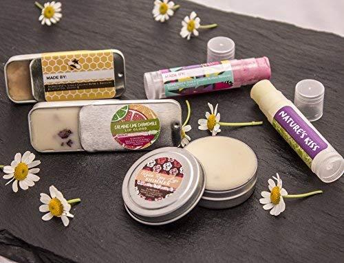 DIY Lip Balm Kit, (73-Piece Set) Homemade, Natural and Organic