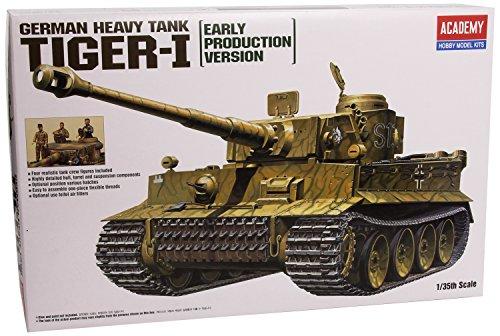 1/35 Tiger 1 WWII Tank