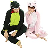 Adult Women and Men's Animal Long Sleeve Summer Green Dinosaur Kigurumi Onesies Costume Pajamas XL