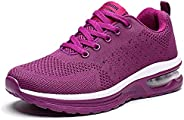 ziitop Womens Walking Shoes Tennis Running Shoes Athletic Air Cushion Ladies Fashion Sneakers Lightweight Work