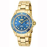 Invicta Men's 'Pro Diver' Swiss Automatic Stainless Steel Casual Watch, Color:Gold-Toned (Model: 18507)
