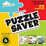 dry mount board - Puzzle Saver Adhesive Sheets (24-Pack) Easiest Alternative To Messy Puzzle Glue