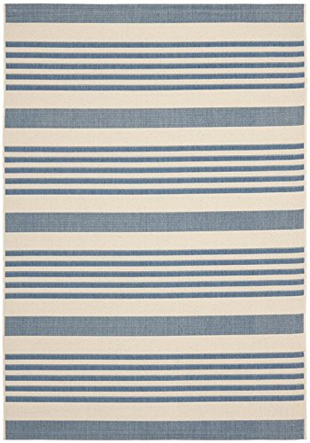 Safavieh Courtyard Collection CYL7062-233A Beige and Blue