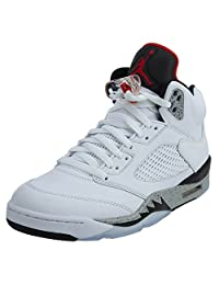 Nike Air Jordan 5 Retro 104WHITE/RED/BLACK 11.5