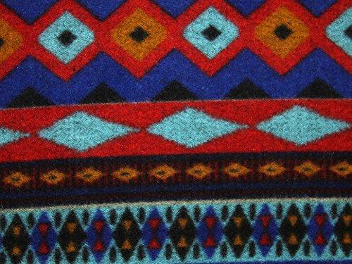 Aztex Stripe Coat Weight Dress Fabric Multicoloured - per metre