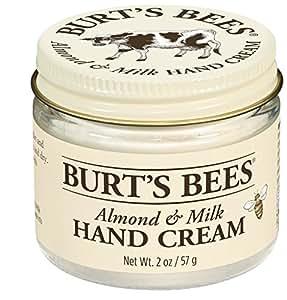 Burt's Bees Almond Milk Beeswax Hand Cream, 2 Ounces (Pack of 2)