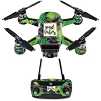 Skin for DJI Spark Mini Drone Combo - Vibes| MightySkins Protective, Durable, and Unique Vinyl Decal wrap cover | Easy To Apply, Remove, and Change Styles | Made in the USA