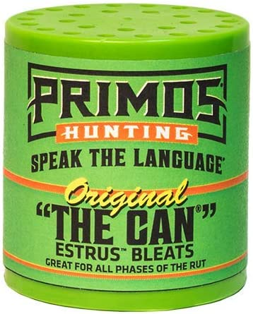 Best Deer Calls: Primos Hunting the Can, Original Can, Trap PS7064
