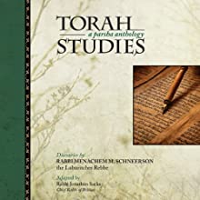 Torah Studies: A Parsha Anthology Audiobook by Menachem Mendel Schneerson, Rabbi Jonathan Sacks Narrated by Shlomo Zacks