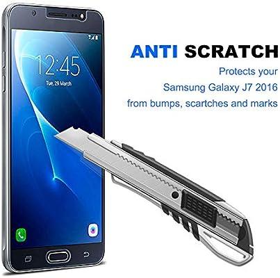 NearPow [3 Pack Protector de Pantalla para Samsung Galaxy J7 2016 ...