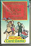 quest for camelot game - Quest for Camelot Go Fish Card Game Wendy's Kids Meal 1998 Complete in Box! Nip!