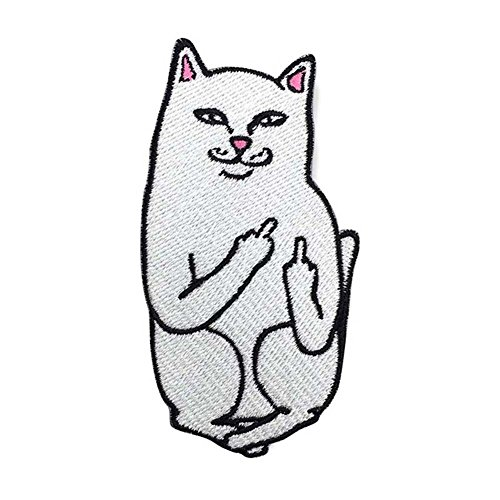 taloyer-funny-cat-patch-middle-finger-patch-embroidered-patches