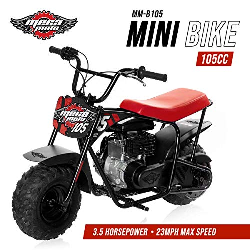 Bike - 105CC/3.5HP Without Suspension (MM-B105-RB)(Red) ()