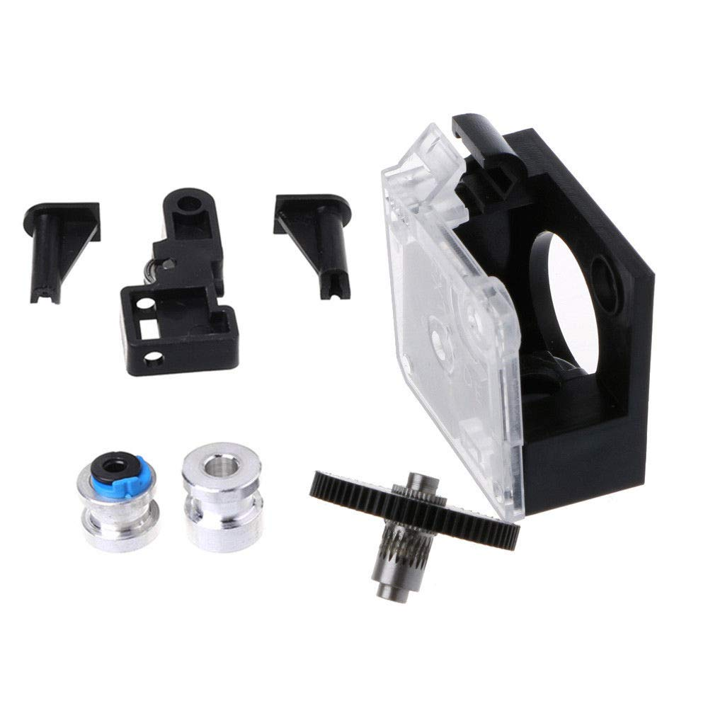 Cikuso For 3D Titan Extruder Full Kit With 17Hs4023 Stepper Motor For 3D Printer Support 1.75 Direct Drive Bowden Mounting Bracket