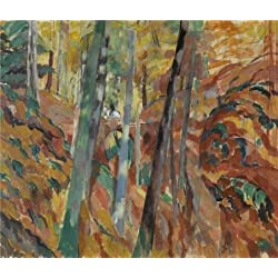 Perfect Effect Canvas ,the Vivid Art Decorative Canvas Prints Of Oil Painting 'Rik Wouters - The Ravine, 1913', 12x14 Inch / 30x36 Cm Is Best For Dining Room Decor And Home Decoration And Gifts