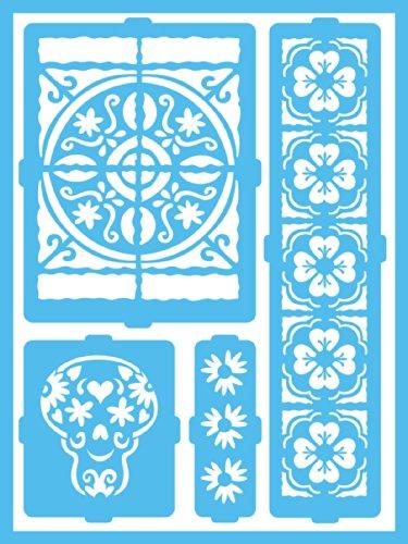 DecoArt Self Adhesive Stencils 8 Inch Inspiration