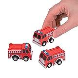 2 Set of 12 Fun Express Pullback Fire Trucks bundled by Maven Gifts