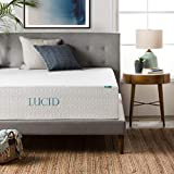 LUCID 14 Inch Memory Foam Mattress - Triple-Layer - Ventilated Gel Memory Foam - CertiPUR-US Certified - 10-Year U.S. Warranty - Twin XL