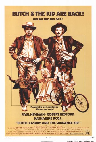 Butch Cassidy and the Sundance Kid Poster B Paul Newman Robert Redford Katharine Ross
