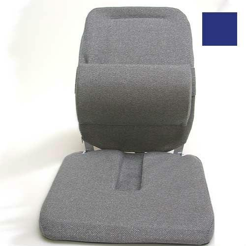 Sacro Ease - BRC-RX-BLU - Deluxe Model Coccyx Cutout Car Seat Cushion - Blue - Width - 19 in.