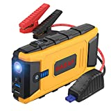 BASAF Car Jump Starter 1200A Peak,12V Portable Battery Pack (up to 8.0L gas, 6.0L diesel engine), Power Bank Type-C In/Out and Dual USB Quick Charge Ports