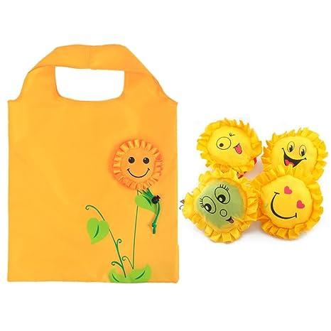 HoneybeeLY 3 Bolsas de la Compra Plegables Reutilizables con ...