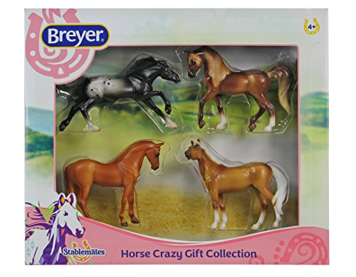 Breyer Stablemates Horse Crazy Gift Collection Four Horse Set