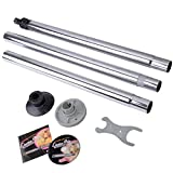 Allblessings Portable Silver Dance Pole Full Kit Exercise Fitness Club Party Dancing