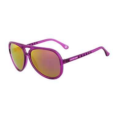 48167a698b Michael Kors M2938S-513 Ladies M2938S Crystal Purple Brynn Sunglasses at  Amazon Women s Clothing store