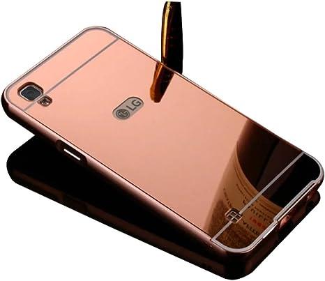 Para LG X Power Espejo Móvil – Shin Etop Lujo Espejo Mirror ...