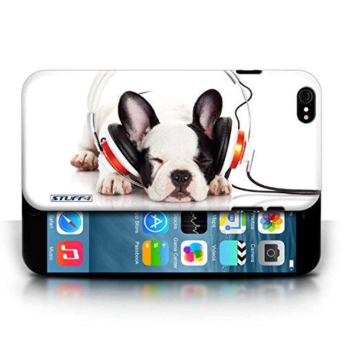 Etui / Coque pour Apple iPhone 6/6S / Chien somnolent conception / Collection de Animaux comiques