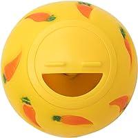 Niteangel Treat Ball, Snack Ball, Small Size, Diameter 3-inch (Yellow)