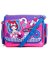 My Melody Messenger Bag: Preppy Patches