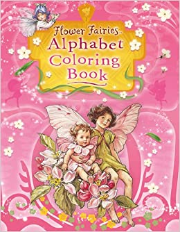 amazoncom flower fairies alphabet coloring book 9780723264965 cicely mary barker books