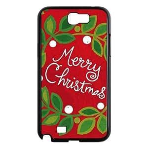 Christmas Wreath Samsung Galaxy N2 7100 Cell Phone Case Black DIY present pjz003_6354508