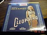 Laserdisc Laser Disc of Cecil B. DeMille's CLEOPATRA With Claudette Colbert, Warren William, Henry Wilcoxon and C. Aubrey Smith.