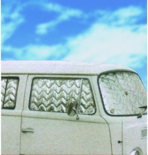 UKB4C T2 Campervan Bay Window 8pc Internal Thermal Blinds Cover Blind Kit 1967-1979