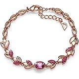 CDE 18K Rose Gold Plated Women Bracelet Bangle...