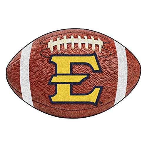 (FANMATS NCAA East Tennessee State Univ Buccaneers Nylon Face Football Rug)