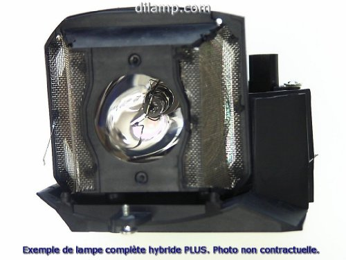 Genuine Plus Lamp (U7-300 Plus Projector Lamp Replacement. Projector Lamp Assembly with Genuine Original Osram P-VIP Bulb inside.)