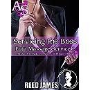 Servicing the Boss (Futa Massage Service 2): (A Futa-on-Female, Voeyurism, Workplace Erotica)