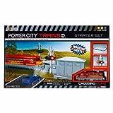 Power City Construction Trains Starter Set, Crossing Guard