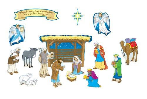 Carson Dellosa Christian Nativity Bulletin Board Set (210027) -  Carson Dellosa Publications, CD-210027