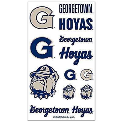 WinCraft Georgetown Hoyas Temporary Tattoos : Sports & Outdoors