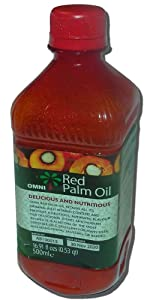 Red Palm Oil 16.9 Fl ozs