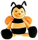 Schaffer 4352 Bine Bee Cuddle Toy, 21 cm, Yellow/Black, Multicoloured