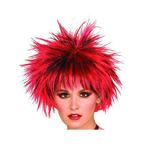 Heirloom Quality Funky Cool Look Colourful Wig - Holi/Party/Halloween/Fancy Dress/Any Fun Occasion For Kids/Adults/Senior Citizens (Color May (Senior Citizen Costumes)