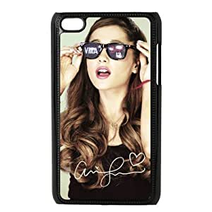 Customize American Famous Singer Ariana Grande Back Case for ipod Touch 4 JNIPOD4-1439