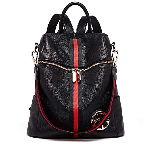 - BOSTANTEN Geniune Leather Backpack Purse Fashion Casual College Shoulder Bags for Women