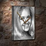 CHARLENE TILTON - Canvas Clock (LARGE A3 - Signed by the Artist) #js001